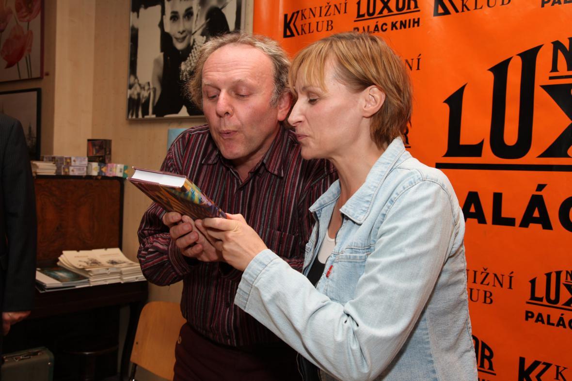 Hana Andronikova a Jaroslav Dušek