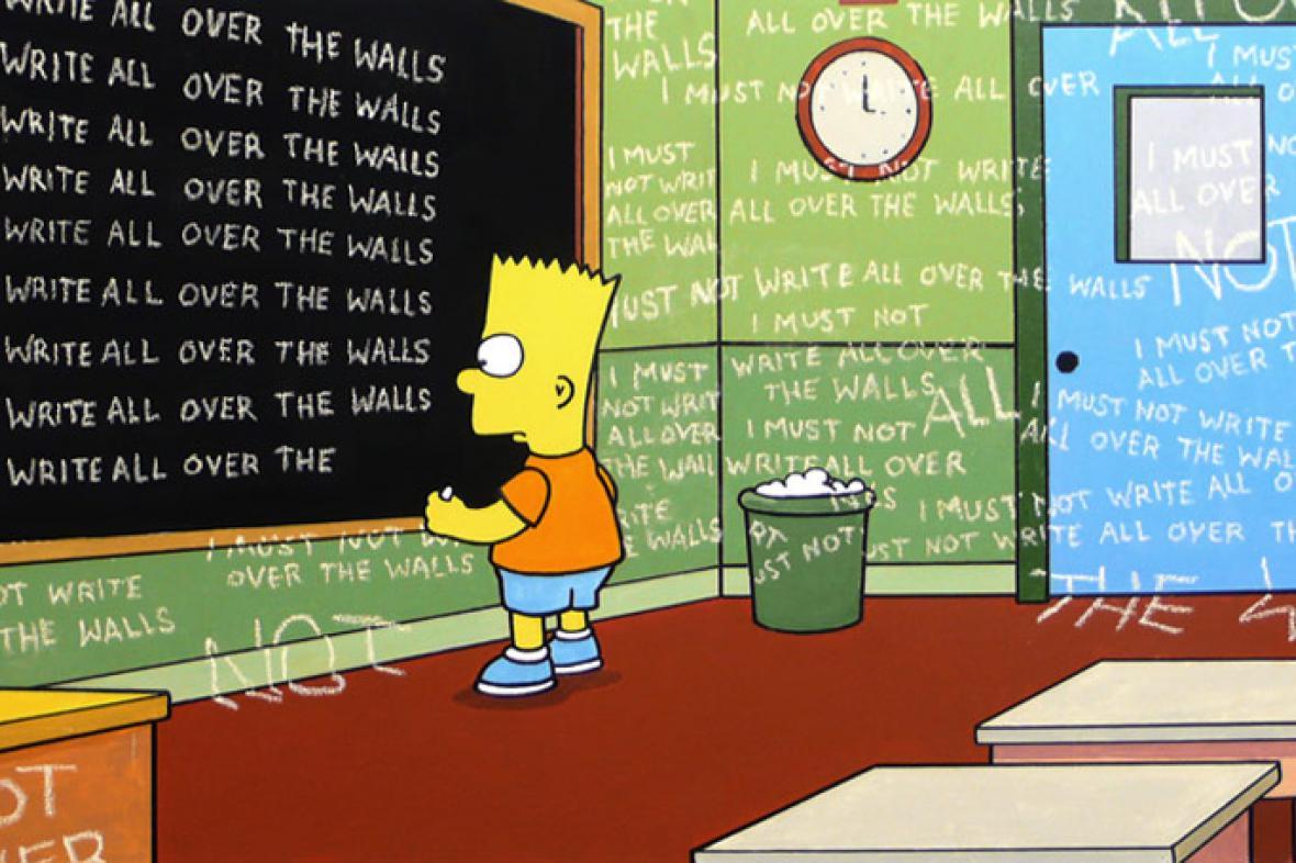 Simpsonovi podle Banksyho