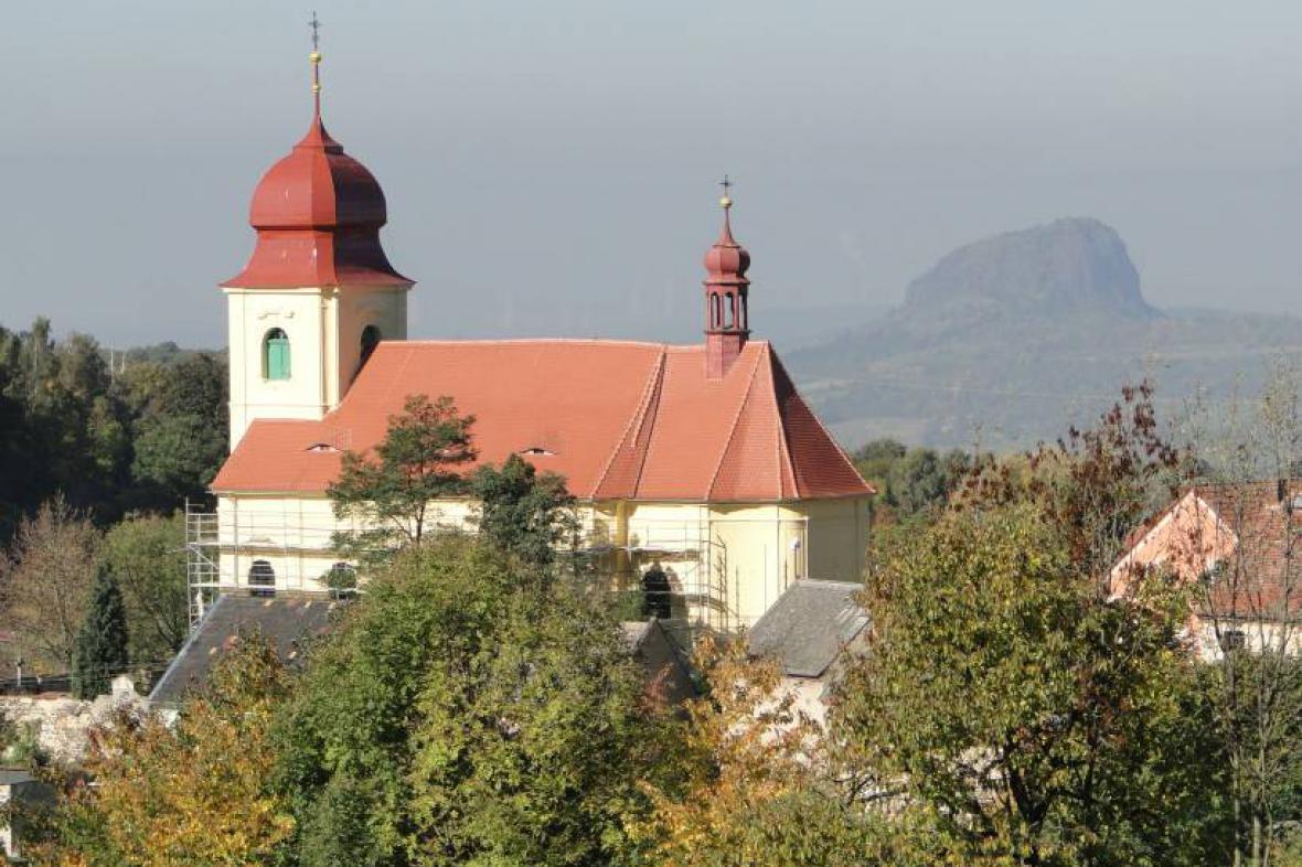 Stav střechy v roce 2010