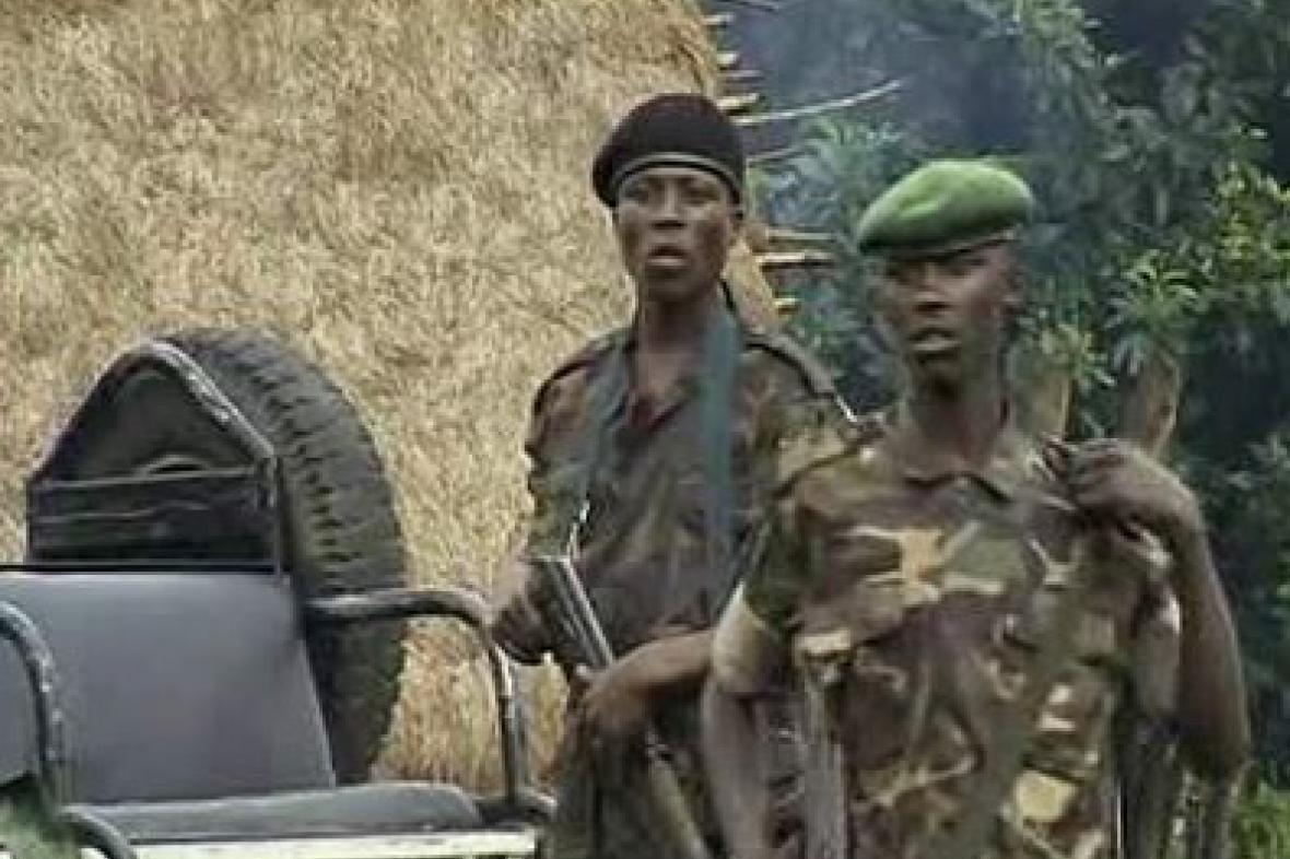 Rebelové v Demokratické republice Kongo