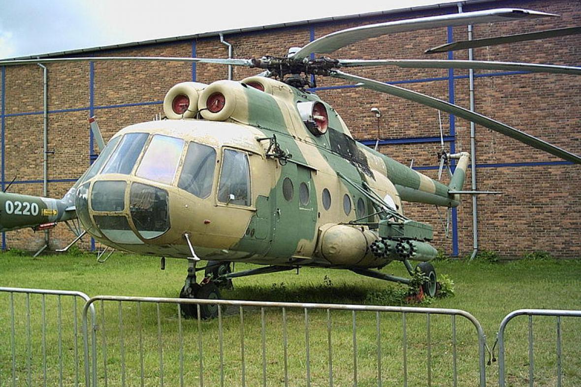 Vrtulník typu Mi-8