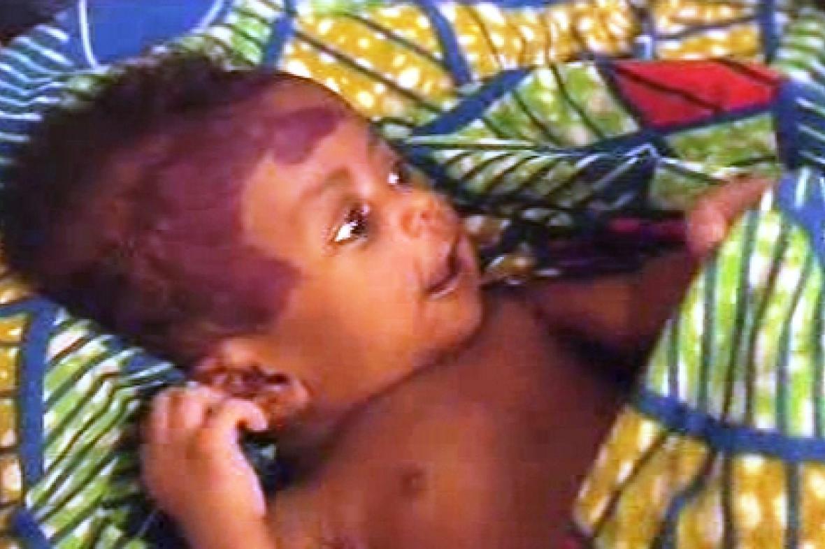Nigerijské dítě