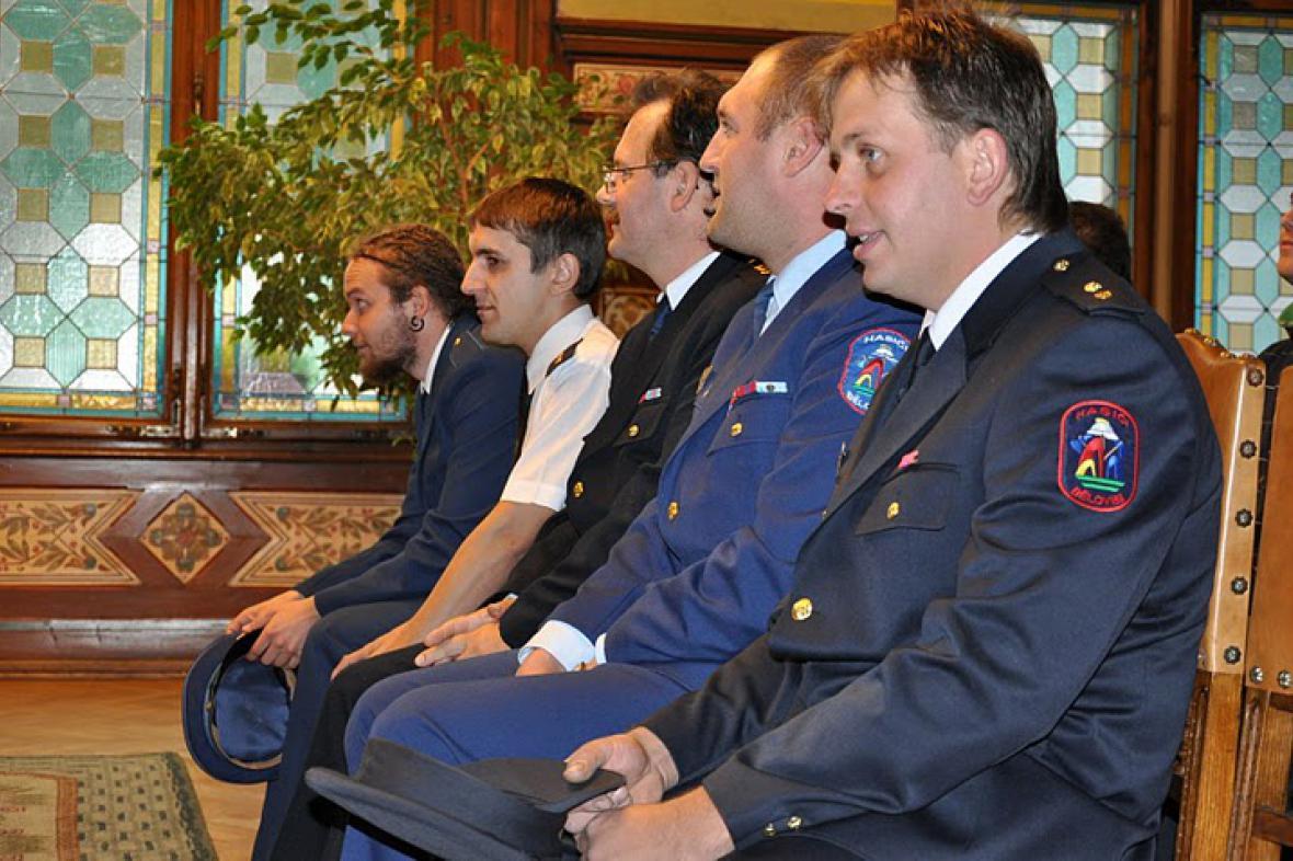 Starosta Náchoda poděkoval dobrovolným hasičům