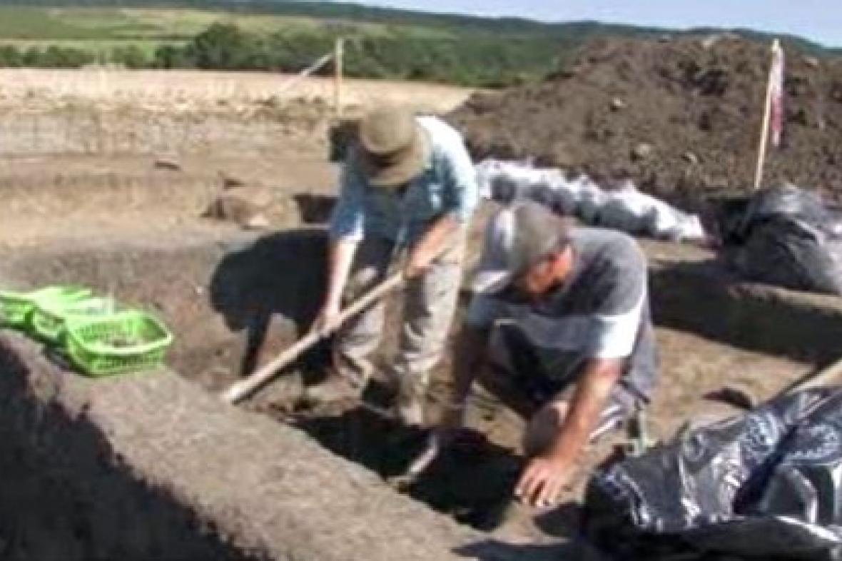 Archeologické vykopávky na Horňácku