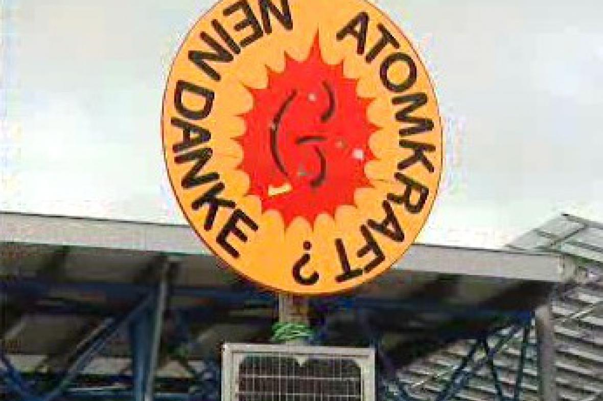 Protest proti jaderné elektrárně