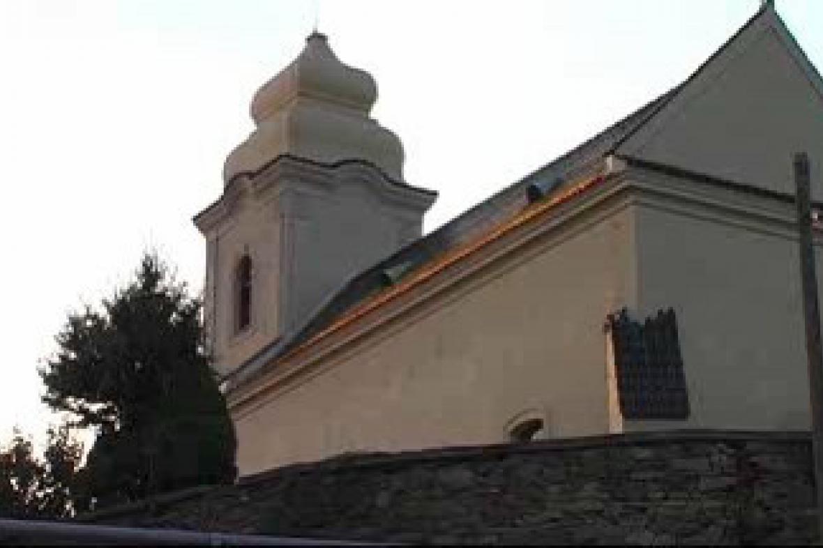 Kostel sv. Václava v Žabonosech
