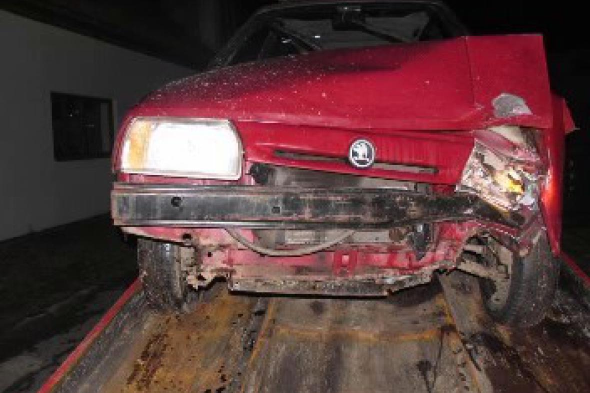 nabourané auto