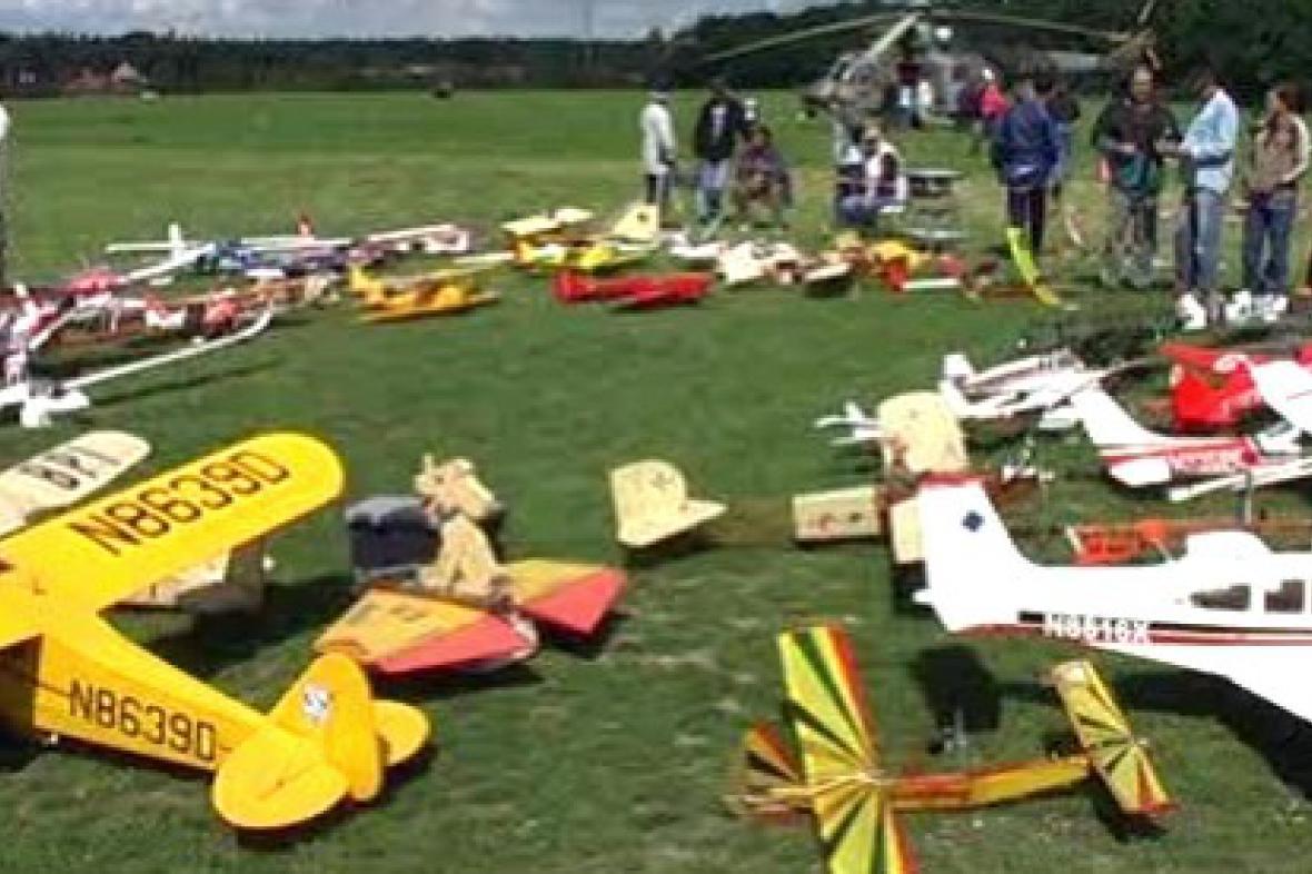 Letecké modely v Konárovicích