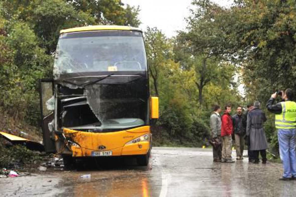 Nehoda autobusu Student Agency