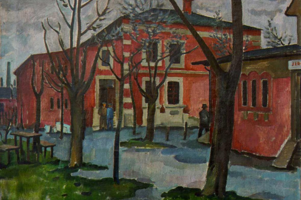 Vladimír Kristin / U šachty (Červený dům)