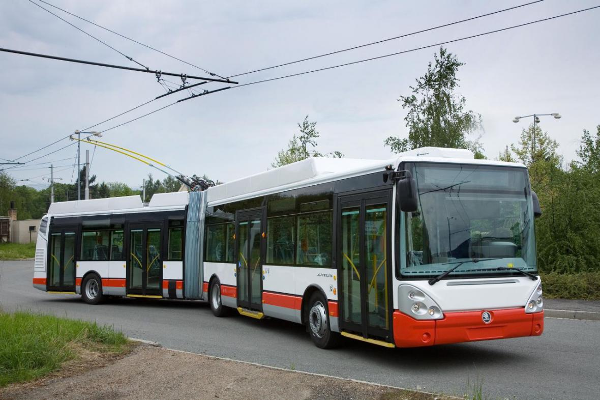 Trolejbus ŠKODA 25 Tr IRISBUS