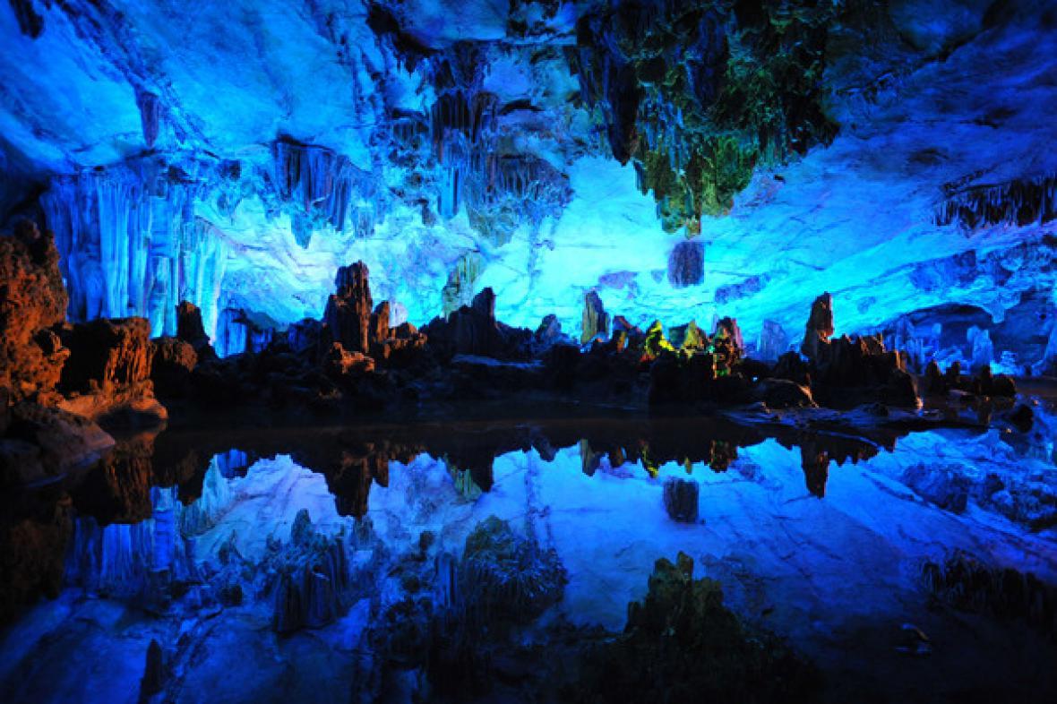 Jeskyně Reed Flute