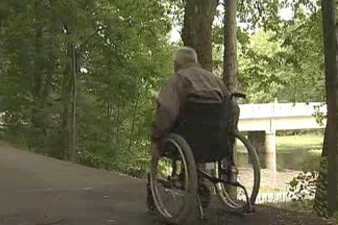 Stezka pro vozíčkáře