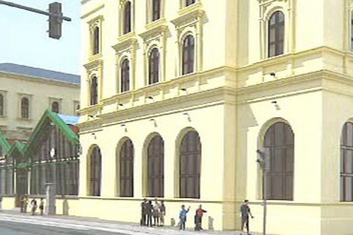 Návrh rekonstrukce Masarykova nádraží