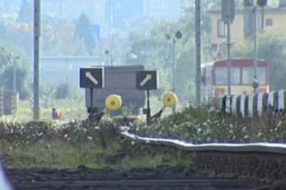 Vlaková trať