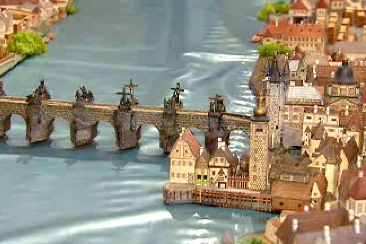 Historický model Prahy