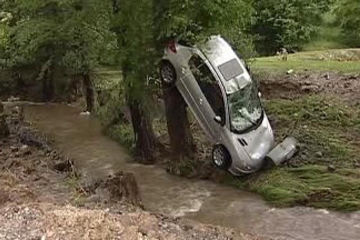 Povodeň v Janské