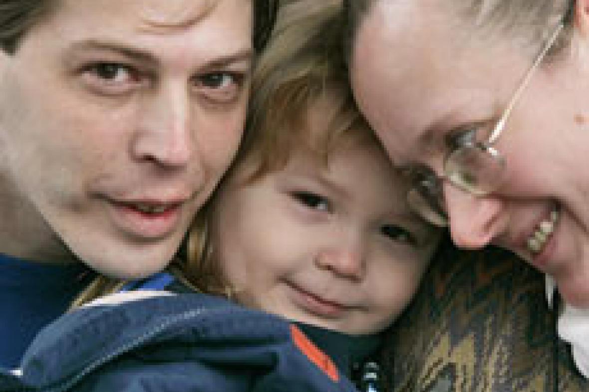 Adolf Hitler Campbell s rodiči