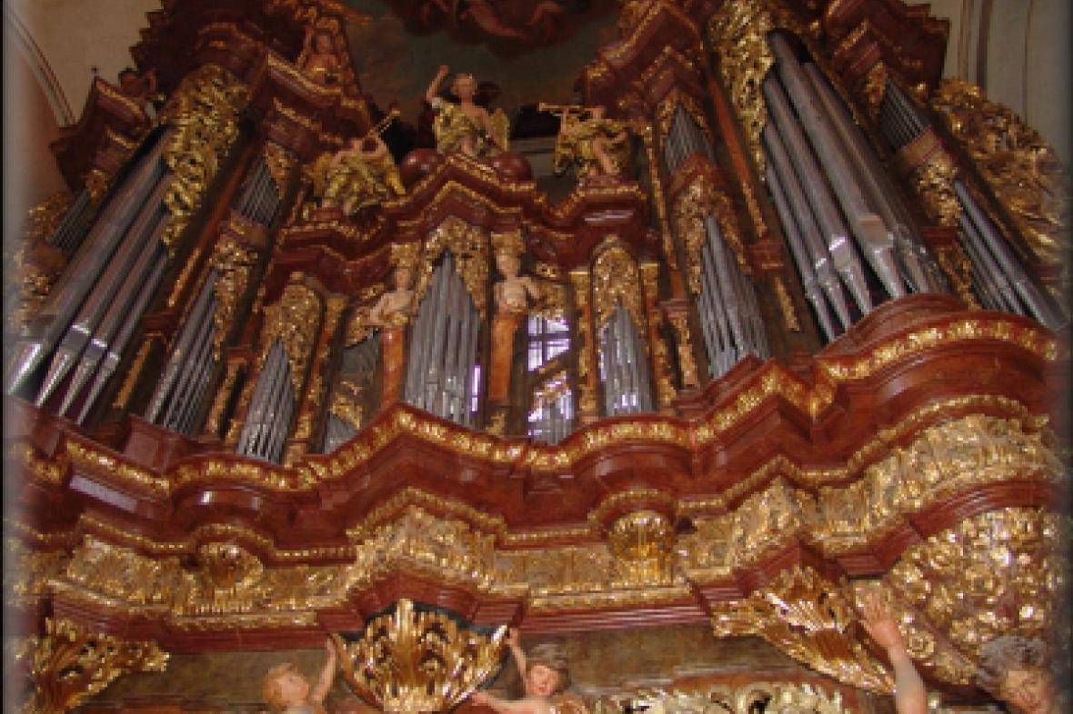 Varhany v bazilice sv. Jakuba