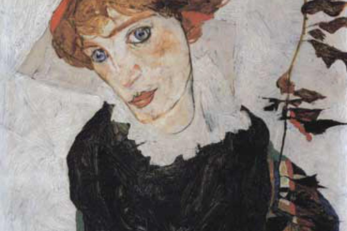 Egon Schiele / Portrét Wally