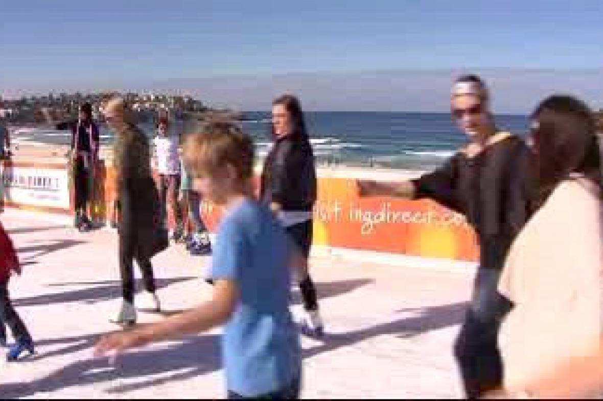 Bruslení na Bondi Beach