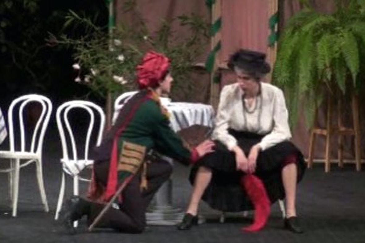 Ukázka ze hry Charleyova teta