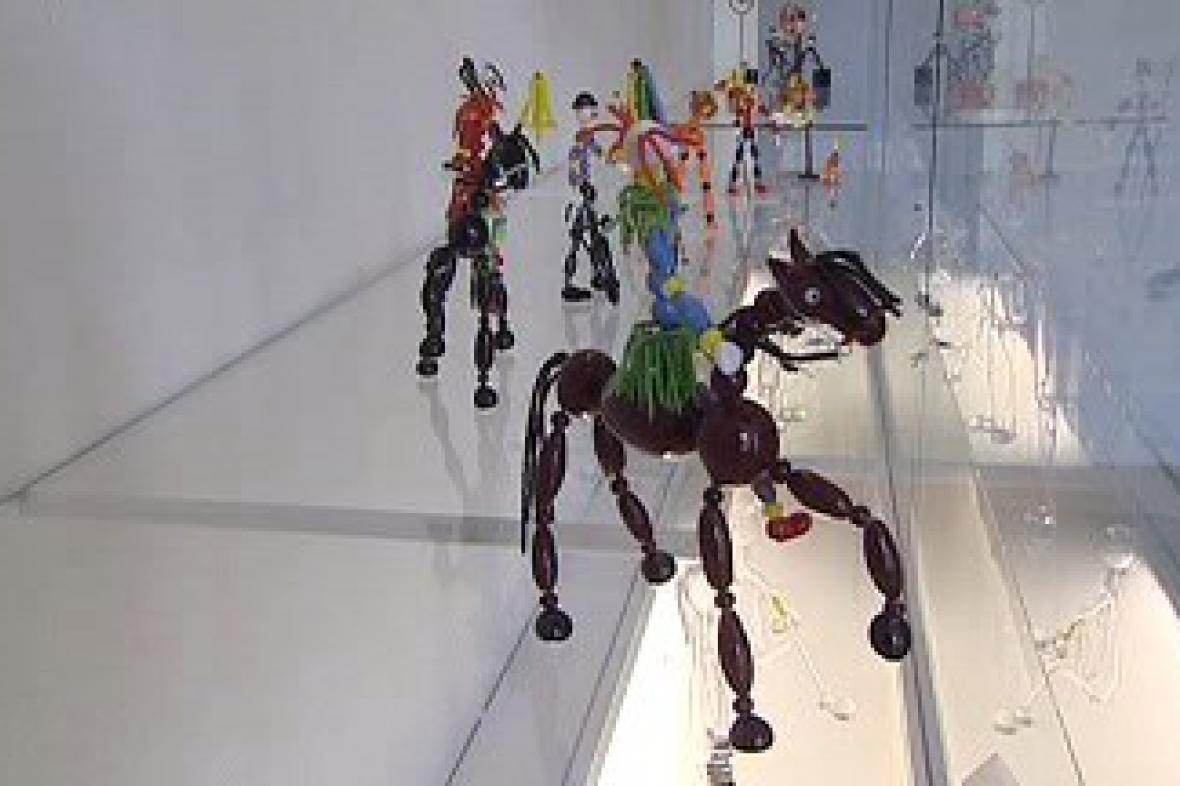 Skleněné figurky