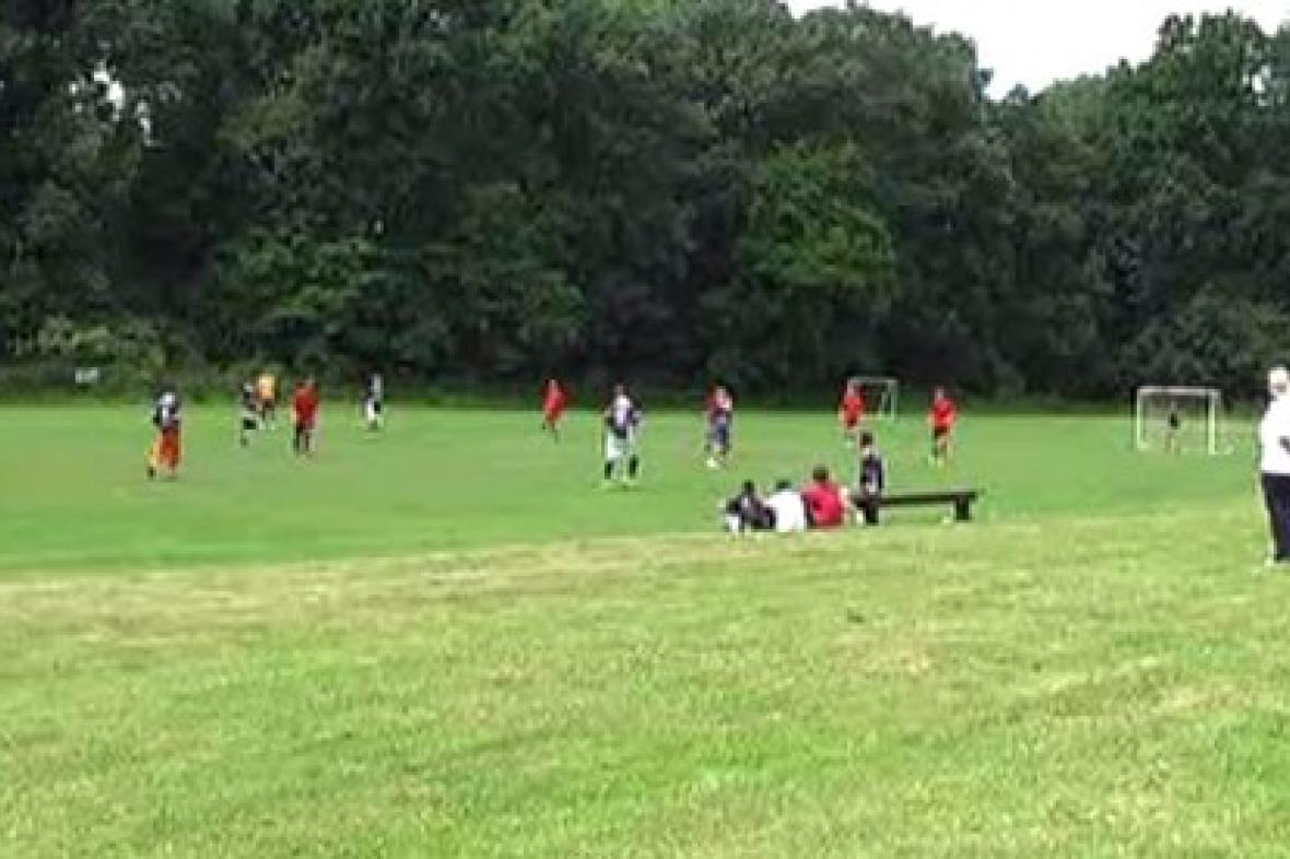 Fotbalové utkání v Citově