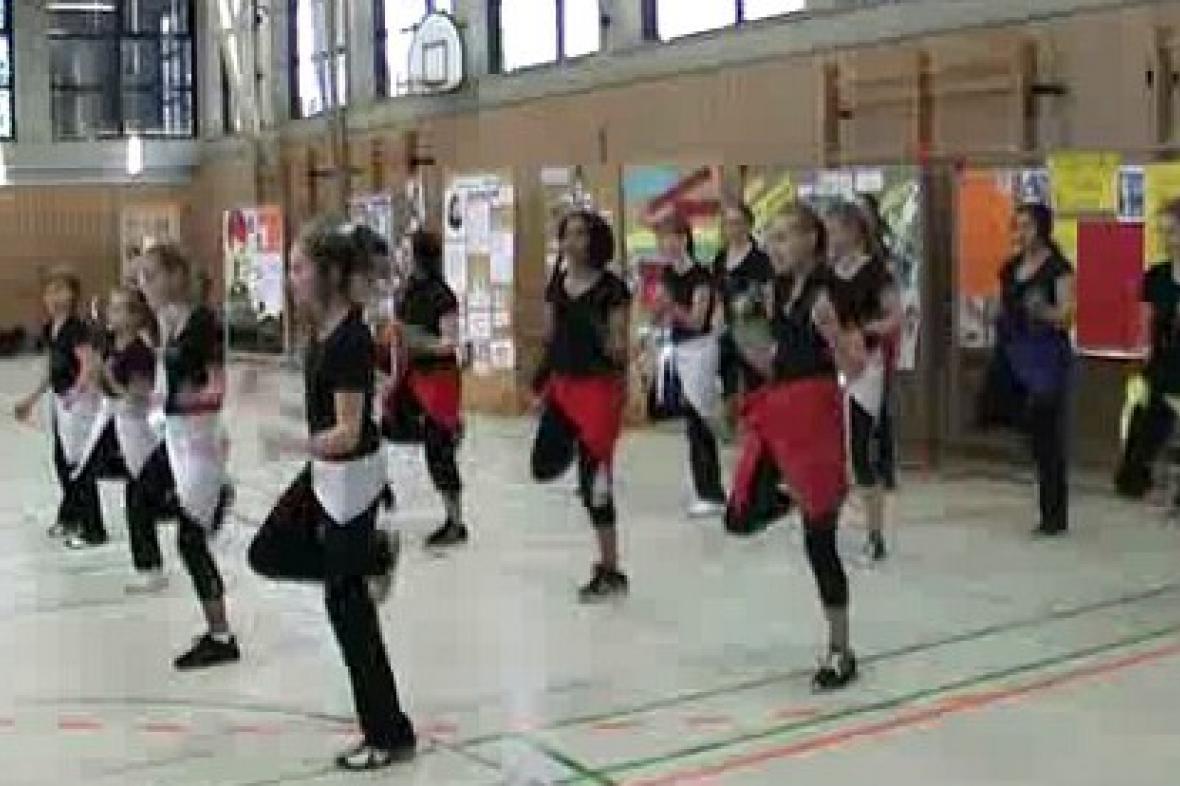 Taneční vystoupení v rámci projektu Comenius