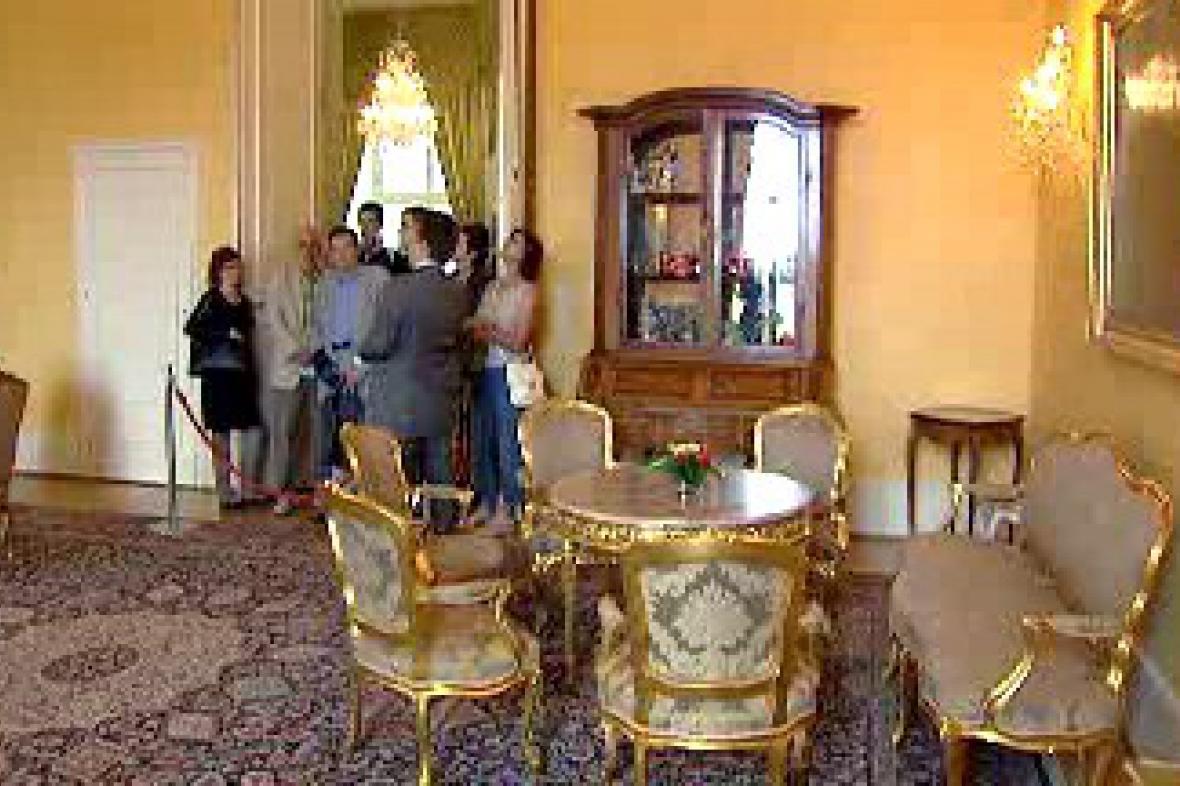 Interiér Černínského paláce