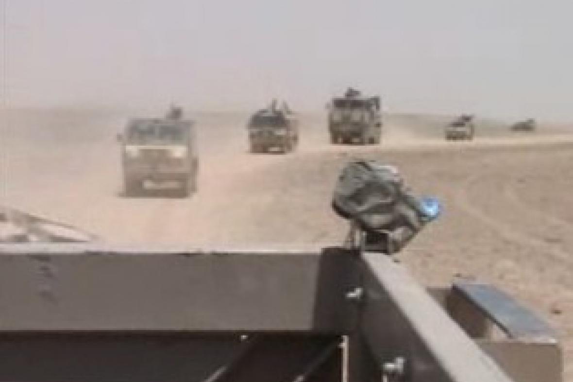 Vojenský konvoj