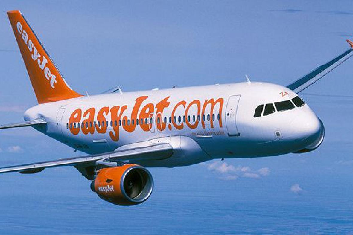 Letadlo easyJet