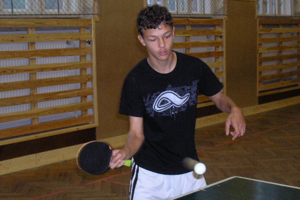 Cena DDM Šumná ve stolním tenisu