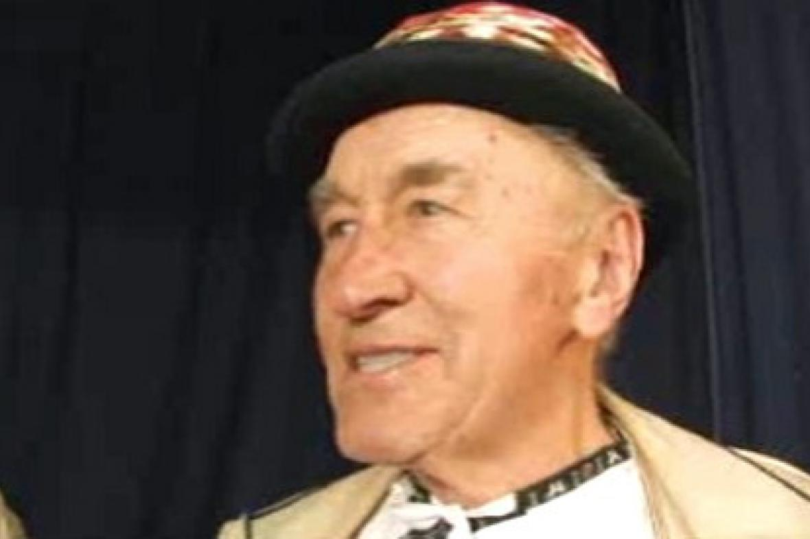 Folklorista František Okénka
