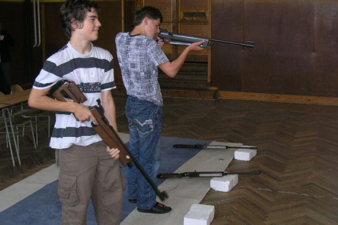 Cena DDM Šumná ve sportovní střelbě