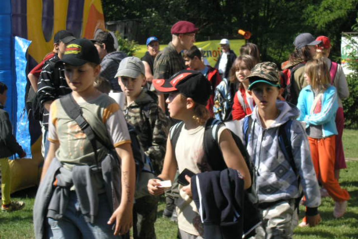 Dětský den - archivní fotografie z roku 2009
