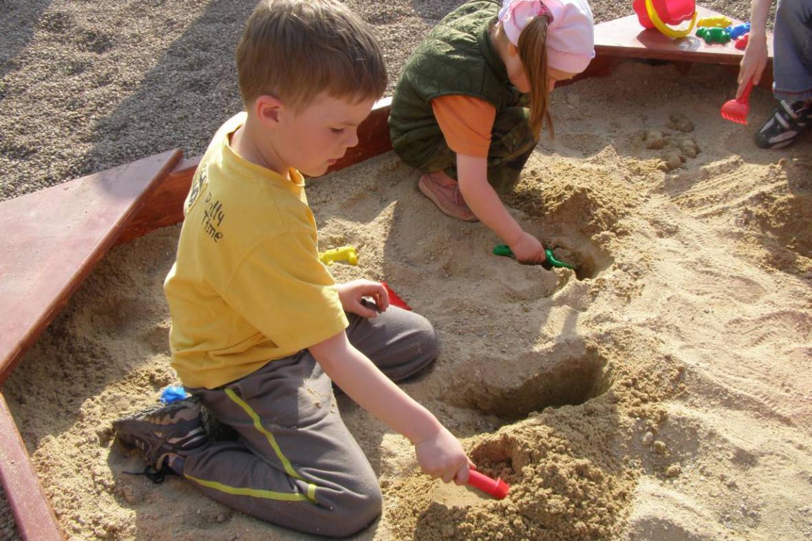 Nové dětské hřiště ve Vrchlabí
