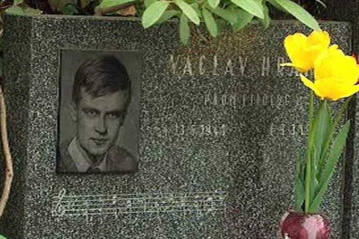 Hrob Václava Hraběte