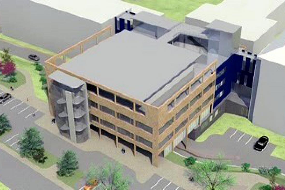 Projekt nového pavilonu