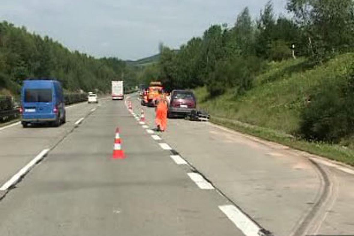 Nehoda na dálnici