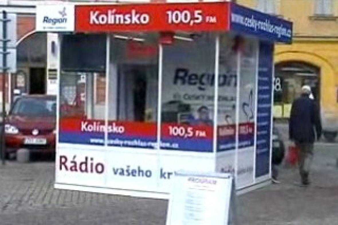 Vysílání z náměstí