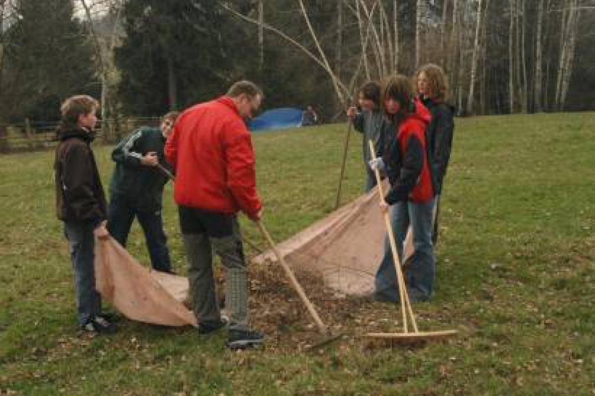 Lánovské děti pomohou přírodě