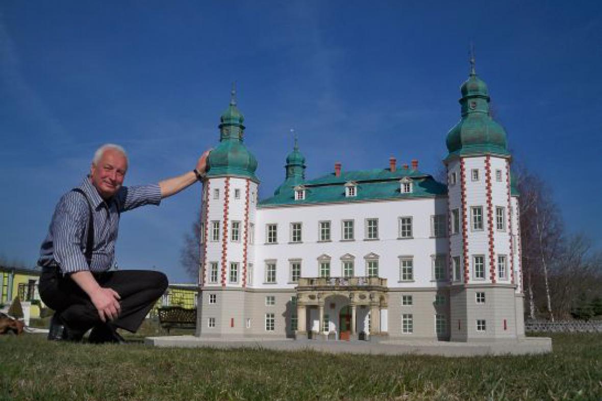 Model zámku z Vrchlabí