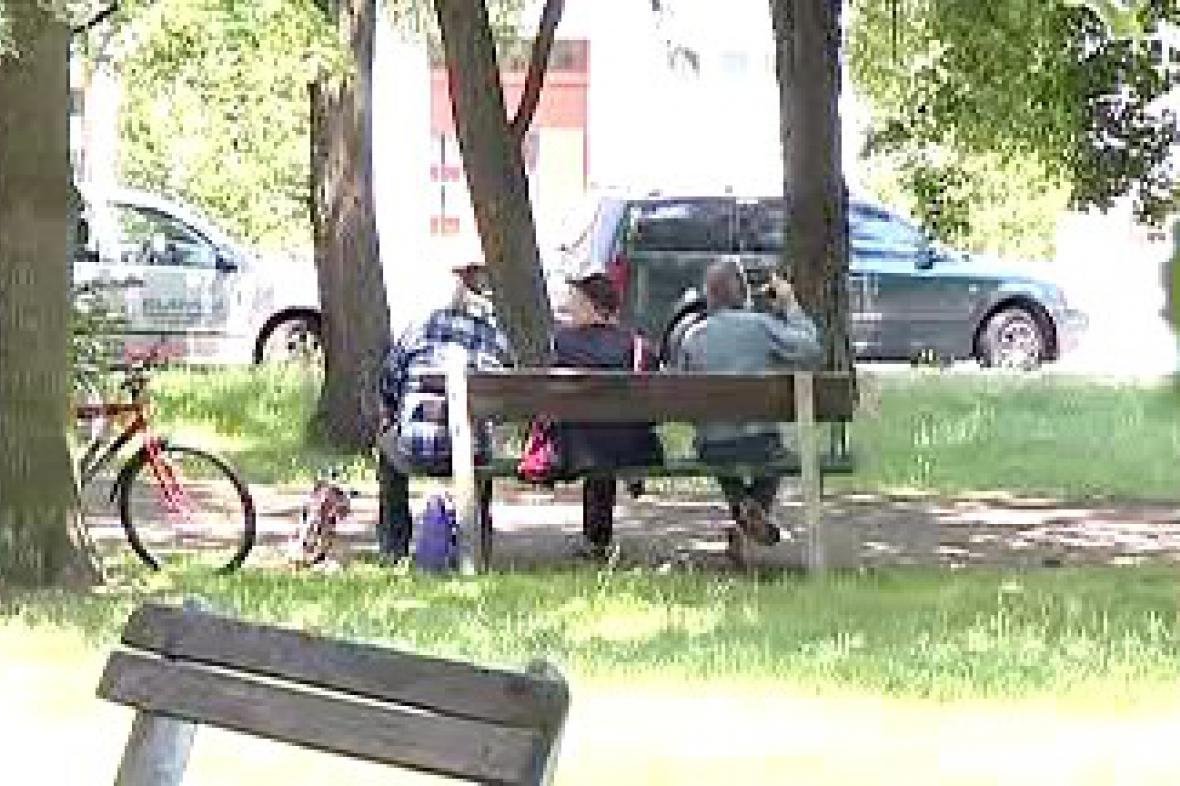 Pardubičtí bezdomovci