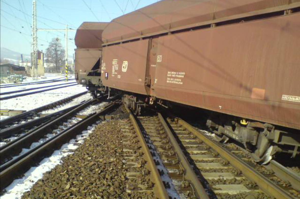Vykolejení vlaku