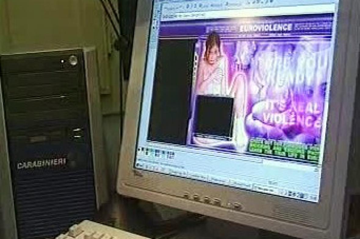 Dětská pornografie na internetu