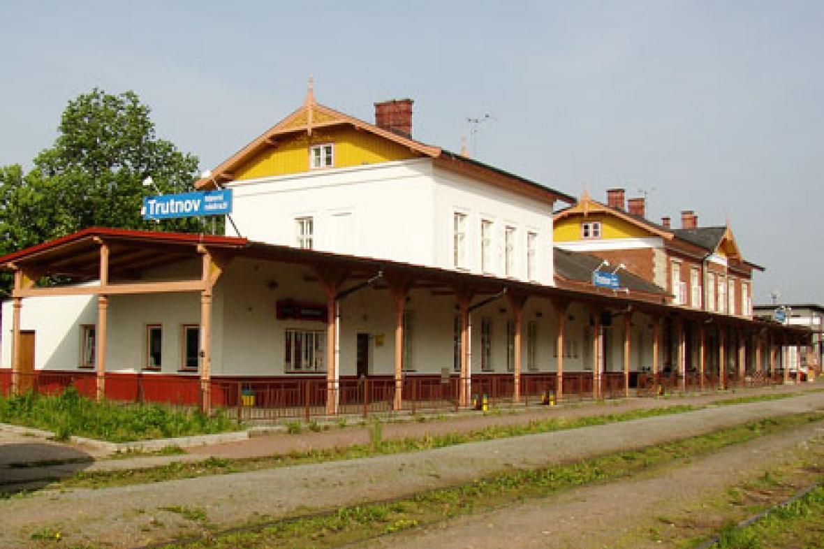 Nádraží v Trutnově