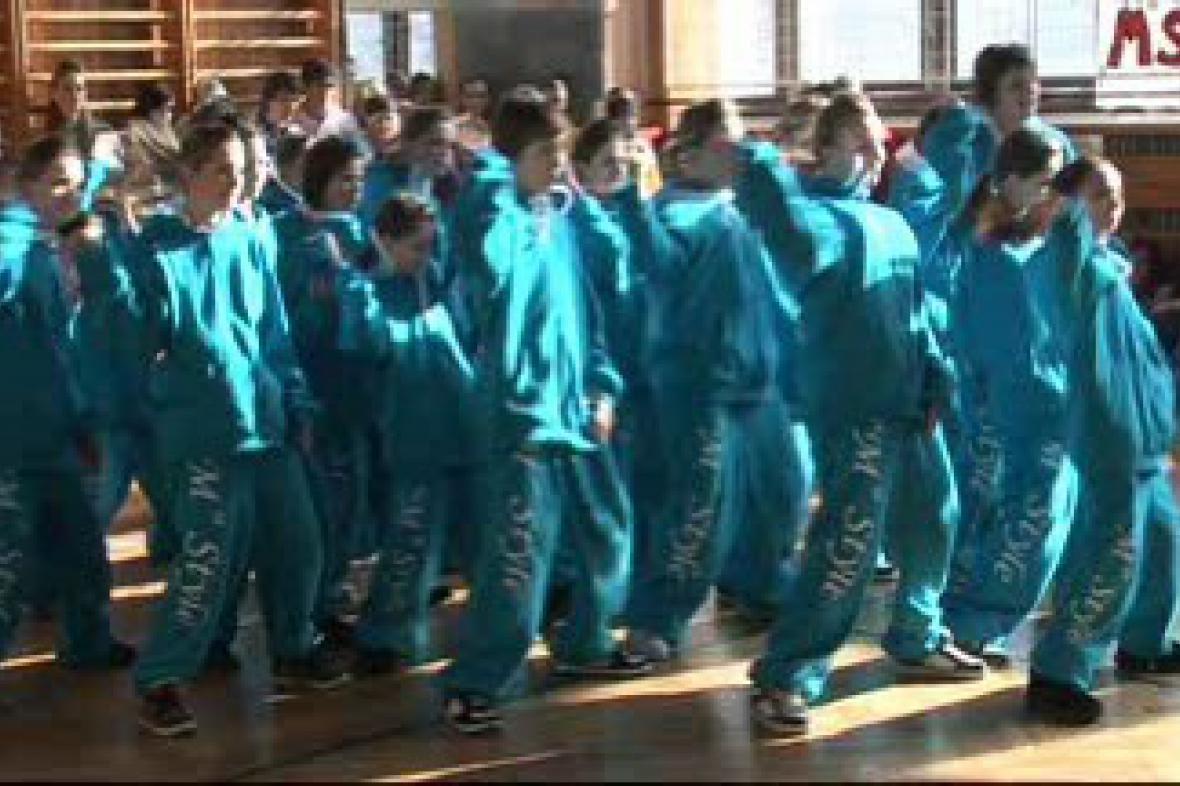 Taneční soutěž v Třebíči