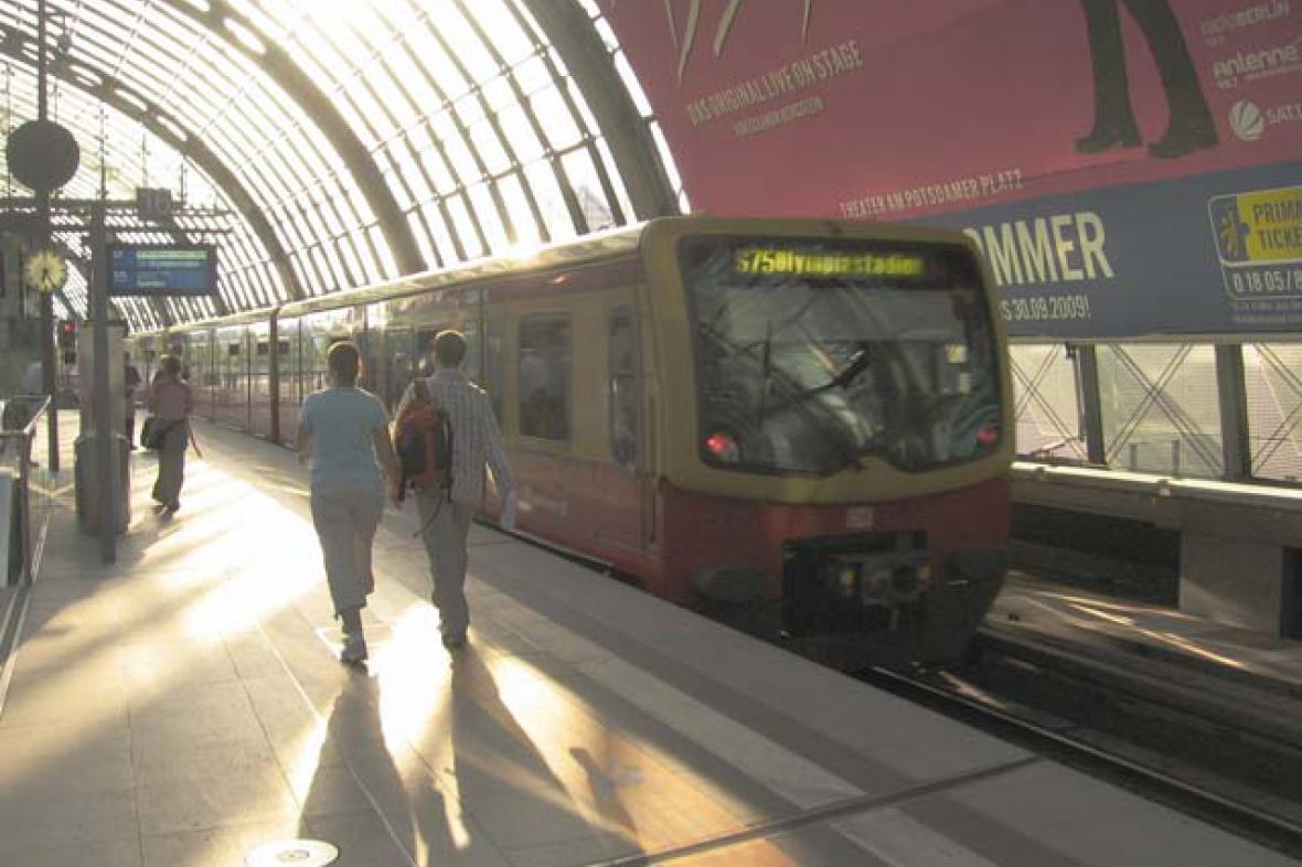 S-Bahn v Berlíně