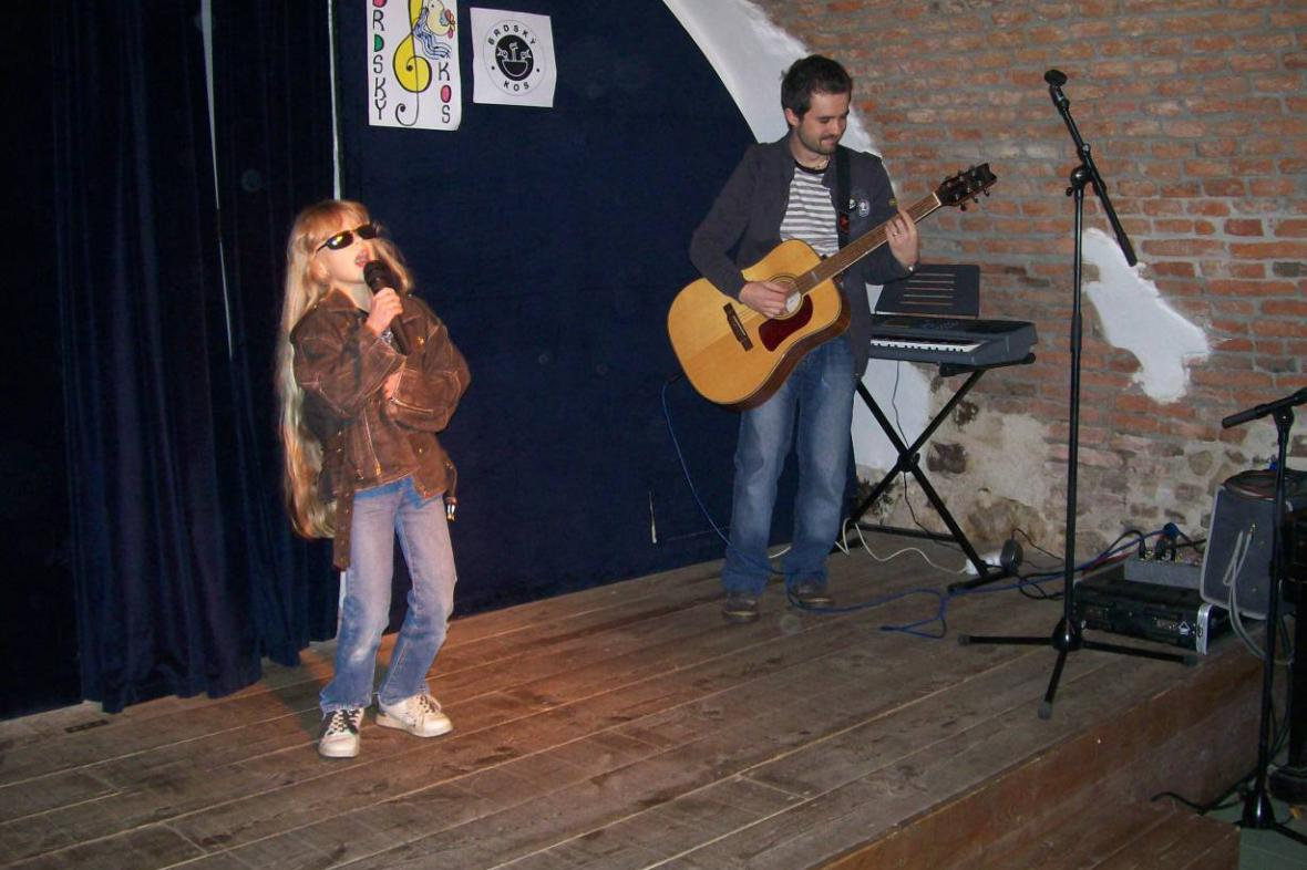 Brdský kos - listopad 2008